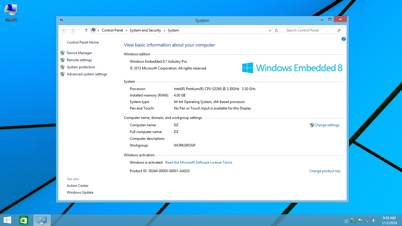 Windows embedded 8. 1 industry pro for daily use youtube.